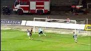 Зоран Балдовалиев за 1:0 между Локо и Ботев