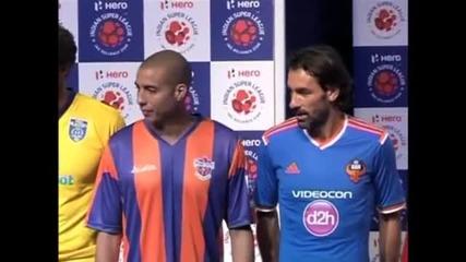 Звездната индийска Суперлига започва с Дел Пиеро, Люнгберг, Тревезе и Пирес