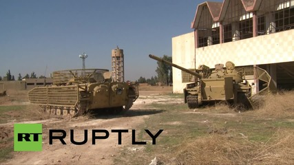 Syria: Army secure area surrounding former IS stronghold, Kweires airbase
