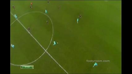 Байер Леверкузен - Барселона 1 - 3 14.02.2012