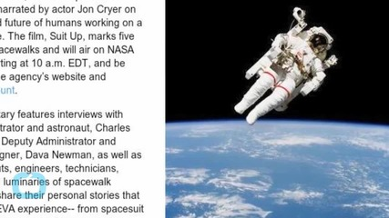 Actor Jon Cryer Voices New NASA Film to Honor 50 Years of Spacewalks