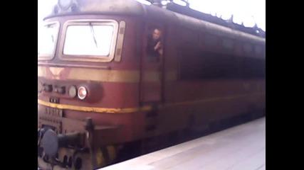 товарен влак на гр Пазарджик