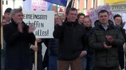 Germany: Deggendorf protesters decry government's asylum policy