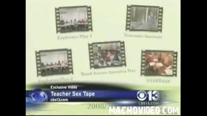 Учителка Дава На Учениците си Касета с Домашното си Порно