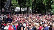 Denmark: 10,000 fans watch Denmark-Australia draw 1:1 in Copenhagen
