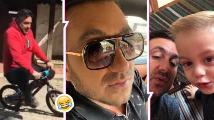 СМЯХ: Константин изненада с клип в Инстаграм