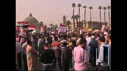 Протестите в Египет продължават