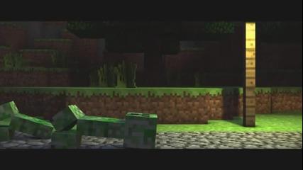 A Minecraft Parody of Usher's Dj Got Us Fallin' in Love - Crafted Using Noteblocks