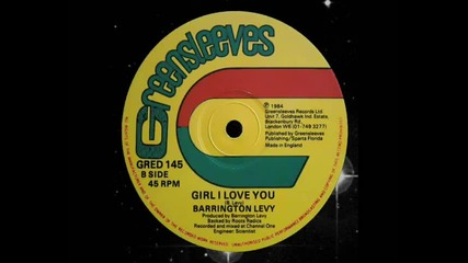 Barrington Levy - Girl I Love You 12 (b) 1984