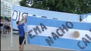 Аржентина превзе Копакабана