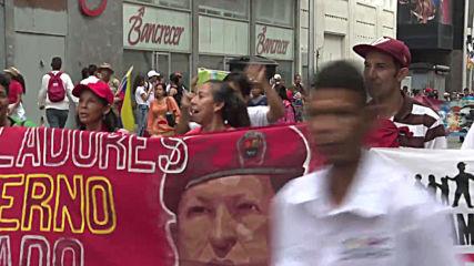 Venezuela: Indigenous peoples march in solidarity with Ecuadorian protesters