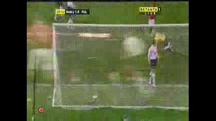 Manchester United - Fulham 2 - 0 (Ronaldo)