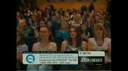 Justin Bieber on Qvc 31210 performing U Smile