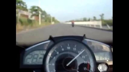 Honda Cbr 1000rr vs Yamaha R1
