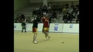 Son Dong in Sanda tournament