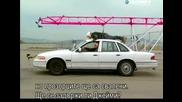 Ловци на митове - Возене на покрива на кола - с Бг превод