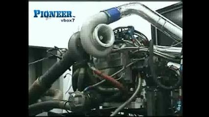 *невиждано*тестове На Двигател Със 1664 Конски Сили