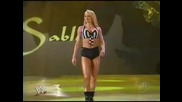Wwe Smackdown Torrie Wilson vs Nidia [ Sable special guest referee ]