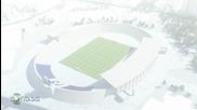 Как ще изглежда стадиона на Пфк Левски - Проект (2013-2018 г.)
