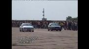 Драг Golf 3 GTI 16V vs. Vectra 16V