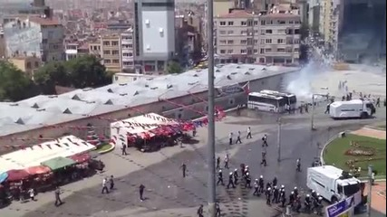 Протест в Истанбул, Турция 31 май 2013 г.