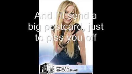 Avril Lavigne - Headset [lyrics+bg prevod]