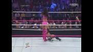 Aj Lee си запазва титлата на дивите срещу Brie Bella - Wwe Battleground 2013 06.10.2013