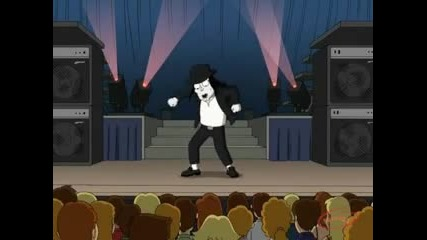 Family Guy - Michael Jackson On Stage