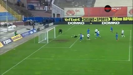 Разширен репортаж от успеха на Левски срещу Марек с 4:0