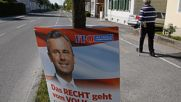 Austria: Freedom Party's Hofer casts ballot in presidential election