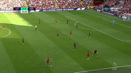 Ливърпул разтяга дефанзвината структура на Арсенал
