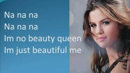Selena Gomez - Who Says Lyrics