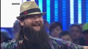 The Shield defies Wwe Coo Triple H by attacking The Wyatt Family_ Smackdown