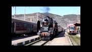 Страхотен парен локомотив в Дупница