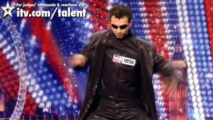 Талант: Матрицата ! Нечовешки талант ! Britain's Got Talent