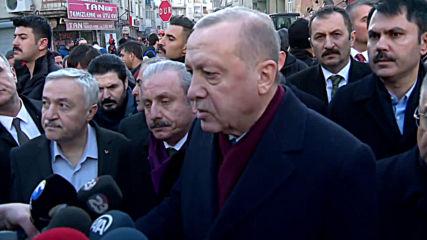 Turkey: 'Over 1,000 injured' - Erdogan makes statement from Elazig earthquake site