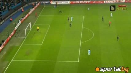 Манчестър Сити - Порто 4:0 ( Europa League 1/16 финал )