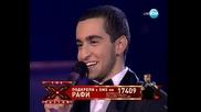 Рафи - Nutbush city limits - X Factor Концертите Bulgaria