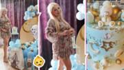 Обратно броене: Baby shower за Калина Кузманова! Актрисата обяви пола на бебето