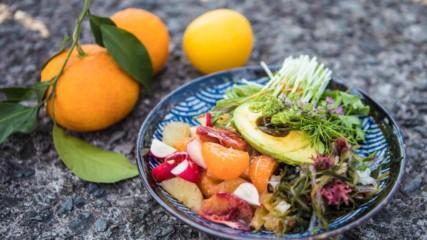 Джъстин Скофийлд | Салата от цитруси и авокадо