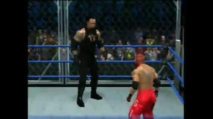 Smackdown Vs Raw 2011 - Undertaker Vs Rey Mysterio