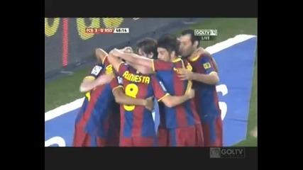 Barcelona vs Real Sociedad 5 - 0 (12.12.2010)