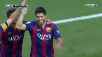 Barcelona vs Getafe 6-0