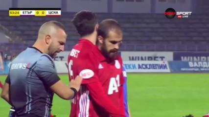 Етър - ЦСКА 0:4 /репортаж/