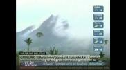 Вулкан изригна на остров Суматра