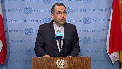 UN: 'No way that Iran and the US can start a dialogue' under threat of sanctions - Iran's UN Amb.