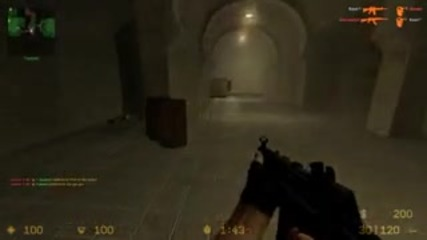 Геймплей на Counter Strike Source