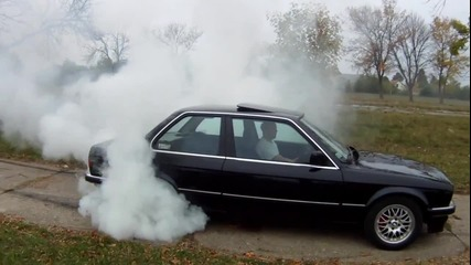 Bmw 320 Burnout