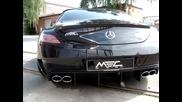Mercedes Benz Sls Amg sound Mec Design Gt3 Version