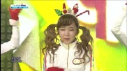 131208 Crayon Pop - Lonely Christmas @ Inkigayo